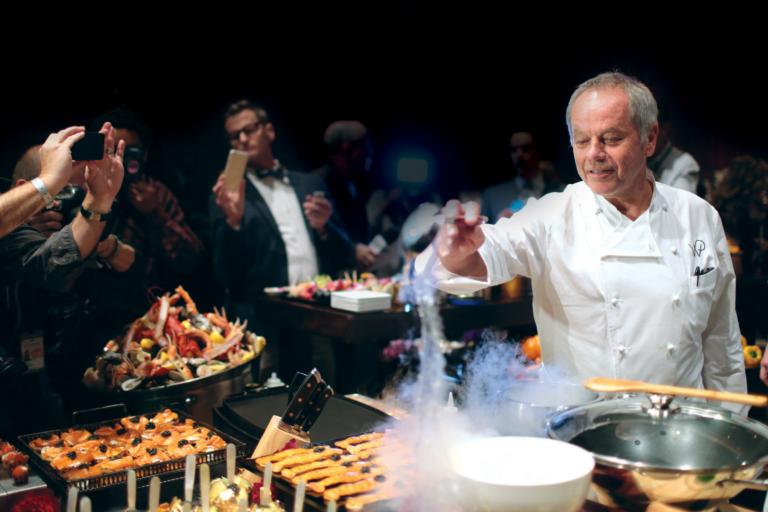 Culinary mastery Wolfgang Puck