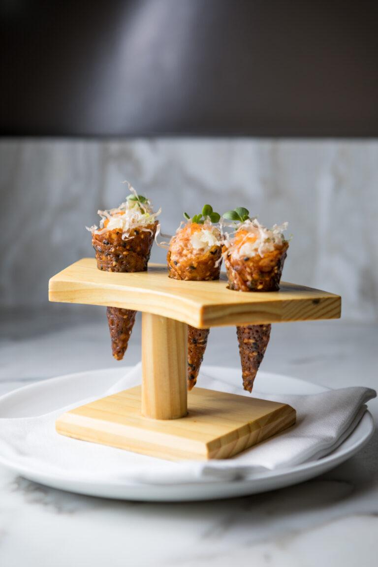 Tuna Tartare Cones